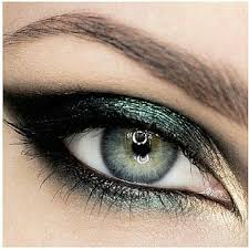 blue green eye shadow extension colors
