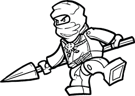 Lego Ninjago Kai Coloring Pages How To Draw Hands Of Time Zx Color