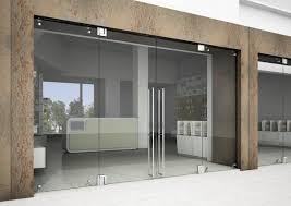 glass door hinge steel