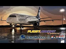 Aeromexico E90 Seating Chart Aeromexico Embraer 190 Youtube