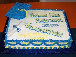 Need Ideas For A Preschool Graduation Cakecentralcom