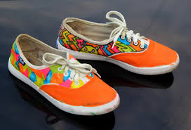Diy Shoes Design Step By Step How To Paint Shoes With Pictures Wikihow