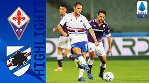 Fiorentina 1-2 Sampdoria | Verre lob puts Sampdoria's first three points on  the board!