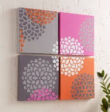 blooming wall art on wall art canvas diy with blooming wall art favecrafts