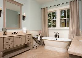 Bathroom Color Palette. The Walls Are Rainwash Sherwin Williams SW6211 And  The Vanities Are Zeus Sherwin Williams SW7744.