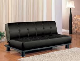 leather sofa bed. Elegant Futon Leather Sofa Bed Ebay