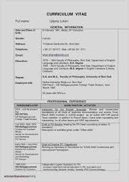 Free Resume Sample Student College New 51 Resume Example For College