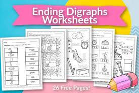 We hope that these english phonics. Ending Digraph Worksheets Free Word Work
