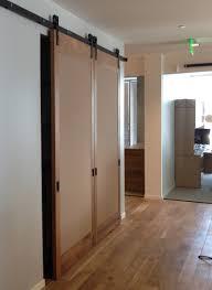pivot door wooden room dividers