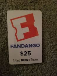 25 fandango gift card 1 of 1 see more