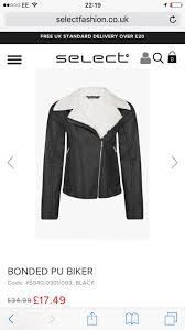 1 2 women s size 6 biker jacket
