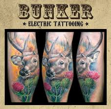 значение тату олень фотографии татуировки олень каталог тату