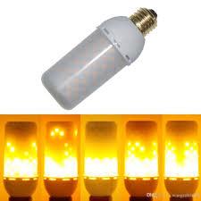 meegan flame001 led decorative lights flicker flame light bulb creative fire effect bulb decorative lamp bulb 85v 265v pack of 1 unit a19 led bulb led