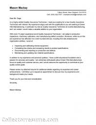 qa engineer cover letter sample livecareer images about software