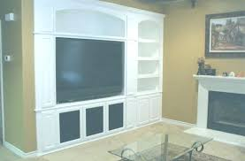 Tv Cabinet Built In The Wall Custom Cabinets Built In Entertainment