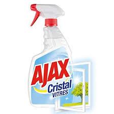 ajax cristal spray window cleaner