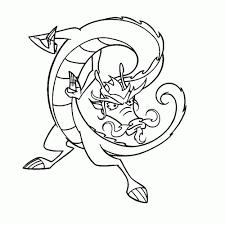 25 Bladeren Jake Long American Dragon Kleurplaat Mandala