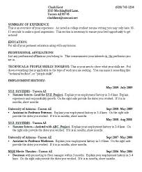 Resume Sample For College Students Amazing Sample College Student Resume Objective Work Experience Examples Of