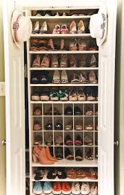 How To Build A Shoe Rack Engrossing Build A Closet Shoe Rack Roselawnlutheran