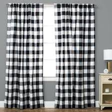 buffalo plaid shower curtain the pillow collection plaid and check semi sheer rod pocket single curtain buffalo plaid shower curtain