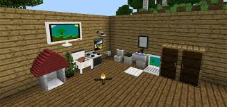 Minecraft Pe Furniture Design