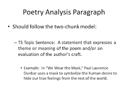 we wear the mask paul laurence dunbar ppt video online  poetry analysis paragraph