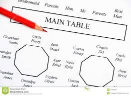 Wedding Seating Plan Stock Image Image Of Chart Decision