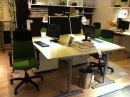 ikea office furniture galant. Ikea Galant Desk Back-to-back Setup Office Furniture