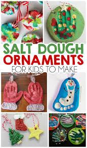Two It Yourself Salt Dough Recipes For Ornaments Handprint Santa Salt Dough Christmas Gifts
