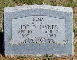 Elma Gaines Jaynes (1899-1959) - Find A Grave Memorial