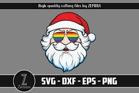 Download 15,506 eyeglasses free vectors. Santa Claus Lgbt Pride Sunglasses Graphic By Zemira Creative Fabrica