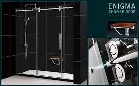 enigma sliding shower door