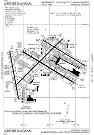 Jfk Airport Taxiway Chart Msp Airport Runway Map Minneapolis Airport Northwest