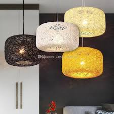 country pendant lighting. Nest Rattan Woven Pendant Light Retro Lamp Birdcage Chandelier Country Fixtures Living Room Bedroom Restaurant 110 220v Copper Lighting 9