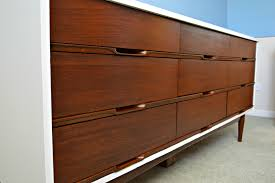 Mid Century Modern Dressers Refinishing A Mid Century Modern Dresser Magnificent Mid Century Modern Furniture Restoration