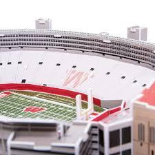 Wisconsin Badgers Ncaa 3d Model Pzlz Stadium Camp Randall