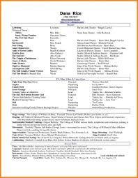 Social Work Resume Skills Acting Resume Skills Job Sample No Social Work Examples Special 32
