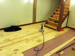 picture of wide plank floor diy rough cut to tongue and groove