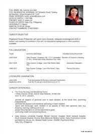 Sample Staff Nurse Resume Malaysia Resume Resume Examples