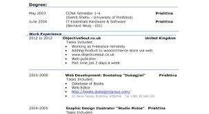 Resume Effective Cv Examples Uk Cv Layout References Inside 79