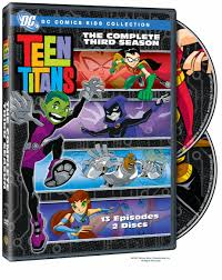 Dc dvd teen titans