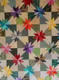 100 best Hunter Star quilts images on Pinterest | Fabric crafts ... & scrappy stars, maybe black & white background with colored stars. Adamdwight.com