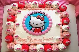 Hello Kitty Cake Design In Red Ribbon Amazingbirthdaycakegq