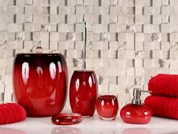 red glass bathroom accessories. Red Bathroom Accessories Set Simple Red Glass Bathroom Accessories N