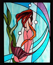 Mermaid Stained Glass Pattern New Design Ideas
