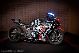 voodoo custom sportbikes creates tapout special then adds k n