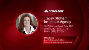 state farm insurance agent tracey stidham insurance agency durham nc
