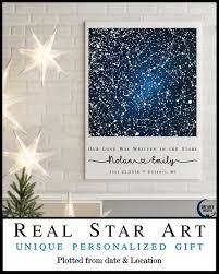 July 2018 Star Chart Stars 1 Location Star Map Constellation Chart Night Sky Personalize Gift For Couple Romantic New Home Housewarming 31344