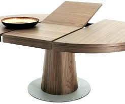 diy extendable farmhouse dining table round expanding expandable stylish creati