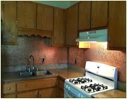 penny tile kitchen backsplash copper tiles for kitchen copper penny copper tile backsplash